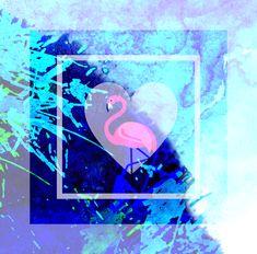 Flamingo, Idee, Wandbild Web Banner, Flyer, Grafik Design, Portrait, Inspiration, Graphics, Wall Prints, Poster, Gifts