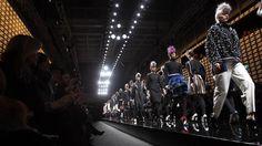 Punk's legacy at Fendi FW 2013