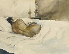 Printemps soir de Andrew Wyeth (1917-2009, United States)