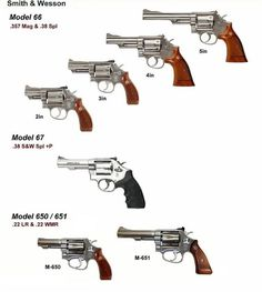 Smith And Wesson Revolvers, Smith N Wesson, Revolver Pistol, Photography Cheat Sheets, Gun Art, Weapon Concept Art, Military Weapons, Airsoft, Firearms