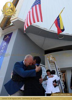 Viernes 15 de Agosto 2014 - Ceremonia de despedida en Hermosa Provincia. #SantaConvocacion2014 #SantaCena201 #lldm #ccbusa #lldmusa