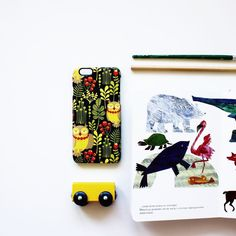 Милый паттерн с совами и растительностью для #айфон6 от @eka_panova. На Hipoco.com ловите по слову красотка. #hipoco #hipocobird hipoco.com