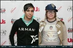 Patrick Stump and Pete Wentz of Fall Out Boy