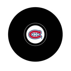 Montreal Canadiens Team Logo Hockey Puck