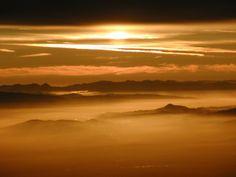californian sunrise