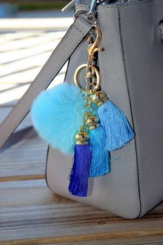 Soft and Fluffy Faux Rabbits Fur Keychain / Fur Ball Keychain / baby blue by ZEnella on Etsy https://www.etsy.com/listing/289143823/soft-and-fluffy-faux-rabbits-fur