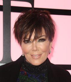 Woah woah woah, Kris Jenner is best friends with WHOM? Medium Short Hair, Short Hair With Layers, Short Hair Cuts, Medium Hair Styles, Short Hair Styles, Pixie Hairstyles, Cool Hairstyles, Short Hair Trends, Crazy Hair Days