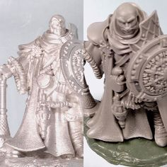 """This was made for Reaper miniatures Christmas release. We made a mold and provided master casting for them to make production molds from.  Bobby Jackson sculpted the piece in Zbrus. It is about 1"""" tall.  #instartists #fantasyart #fantasy #darkart #horrorart #digitalartist #digitalartwork #worldofartists #art#artwork#draw#artoftheday #artist #art#illustration #wargaming #fortressfigures #gaming#rpgs #rpg #reaper#3dart #3dprinting #3dprinted #3dprint by benfortressfigures"""