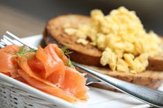 California Bakery - Scrumble Eggs & Smoked Salmon