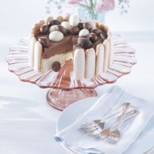Chocolade-Paas-eitjes taart