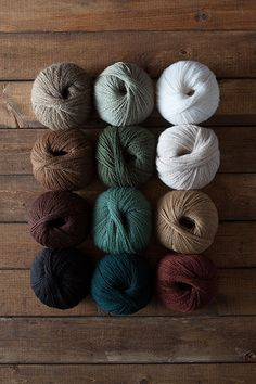 Woodland Cabin Yarn Sampler