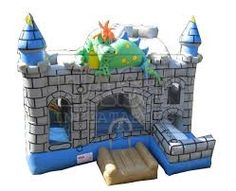 Image result for inflatable castles