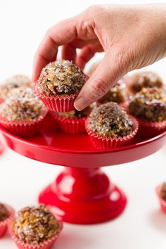 What is a sugar plum and how do you make it? It's one of the most iconic Christmas desserts and yet most people have never had it. Here's what you need to know! #sugarplums #christmas #dessert Christmas Desserts, Christmas Treats, Sugar Plum Recipes, Good Food, Yummy Food, Cookie Bars, Cupcake Recipes, Truffles, Food Processor Recipes