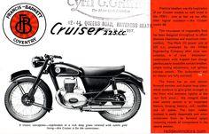 The Francis Barnett range for Norton Motorcycle, Enfield Motorcycle, Motorcycle Posters, Car Posters, Classic Motors, Classic Bikes, Bsa Bantam, Hell On Wheels, Bike Poster