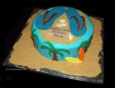 Hawaiian birthday by Simply Sweets, via Flickr