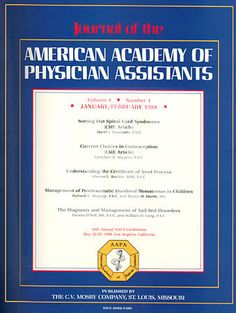 AapaS St Annual Physician Assistant Conference  Washington