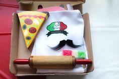 Italian Pizzeria Birthday Party via Kara's Party Ideas KarasPartyIdeas.com #pizzeriaparty (27)