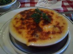 The Bon Ton Cafe's Crabmeat au Gratin, one of the first pics taken with my cell phone camera