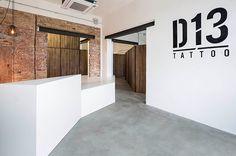 D13 Tattoo studio Architecture
