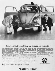 Classic Car News – Classic Car News Pics And Videos From Around The World Ford, Volkswagen Beetle, Auto Union, Vw Vintage, Mercedes Benz, Vw Cars, Car Advertising, Vw Beetles, Porsche