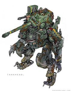 TankHead on Behance