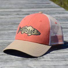 Retro Redfish Trucker Hat - Salmon 60b921ded9be