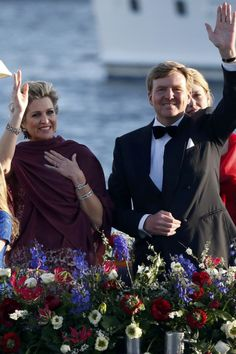 Koning Willem-Alexander en koningin Maxima. King and Queen of the Netherlands