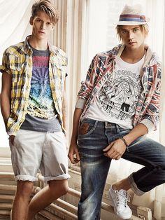 Boyd Holbrook and Tom Guinness for Pepe Jeans SS10 Campaign