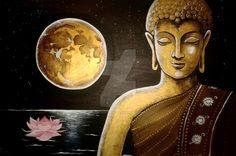Buddha painting 1 by MK-Serenity.deviantart.com on @DeviantArt
