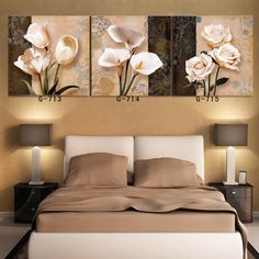2015 top fashion sale wall pictures for living room paintings oil painting on quadros de parede 3 piece canvas wall Home Decor