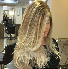 Chic Long Layered Haircuts for Blonde picture 1 Long Hair Cuts, Long Hair Styles, Long Layer Hair, Long Layered Haircuts, Blonde Highlights, Balayage Hair, Ombre Hair, Gorgeous Hair, Pretty Hairstyles