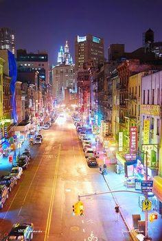 New York City Manhattan Chinatown
