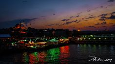 Istanbul Night    @Istanbul, Turkey