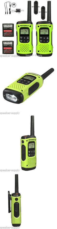 Walkie Talkies Two-Way Radios: Motorola Talkabout T600 H2o Walkie Talkie Set 35 Mile Two Way Radio Waterproof -> BUY IT NOW ONLY: $99 on eBay!