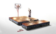 Band-Aid, Print by Cristian Seisdedos, #marketing #coolads #advertising <<< found on www.behance.net pinned by www.BlickeDeeler.de