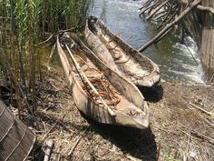 Dugout canoes : fishing africa