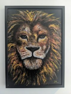 Acrylic Pouring Art, Lion, Hand Painted, Create, Artwork, Animals, Etsy, Leo, Work Of Art