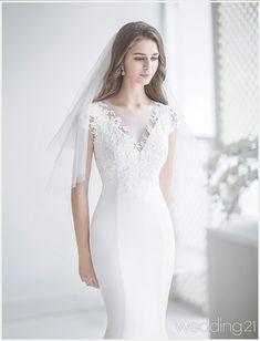 [2018 S/S Dress 1] 하얀눈처럼 우아하고 단아한 웨딩드레스, 제이스포사