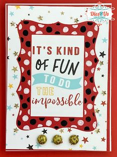 Dies R Us: Kind of Fun To Do The Impossible Easel Cards, Gift Vouchers, Happy Tuesday, Card Stock, Friends, Frame, Blog, Fun, Amigos