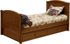 Cooley Bed by Bolton Furniture - Bolton Furniture offers great value in kids furniture including sleep, study, storage and entertainment wall solutions. Bolton Furniture offers unique case styles in timeless designs and is built to last.The Bolton Furniture Cooley Bed features barrel nut and bolt assembly. The Cooley Bed includes a complete slat roll and does not require any additional support via box spring or bunkie board. The Cooley Bed comes with two levels for mattress support...