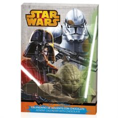 CALENDARIO ADVIENTO  STAR WARS 50 GRS