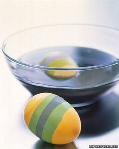 Wax-Resist Egg Dyeing How-To