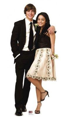 Figurine Géante Troy Et Gabriella High School Musical™