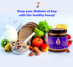 With special nutrients that help regulate sugar levels in your blood, #JamunHoney may be the sweetest health recipe for diabetics! Buy your honey now from www.7seeds.in #7SeedsHoney #Diabetes #Nutrients #RegulatesSugarLevels #HealthyHoney #HealthRecipe #SweetestMedicine