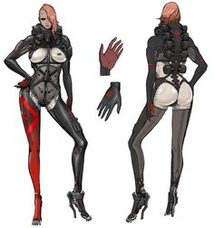 Mistral Concept, Metal Gear Rising: Revengeance