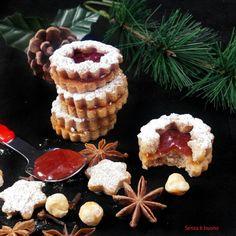 Linzer cookies #vegan #senzaglutine