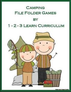 Fun file folder games to add to you camping unit.Includes 7 file folder games in color and B