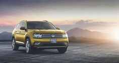 """2018 #VOLKSWAGEN #FIRST_LOOK  The 2018 #Volkswagen Atlas showed up today at #AutoMobility L.A. While no new points of interest were shared, VW found an innovative approach to exhibit the three-column hybrid's """"enormous"""" inside—by stuffing the secondary lounges with five ball players, including #Los_Angeles Lakers legend Kareem Abdul-Jabbar (who remains at more than 7 feet tall).  http://bit.ly/2kJqjMU"""