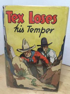 """""""Tex Loses His Temper"""", Gordon Stuart, 1936"""