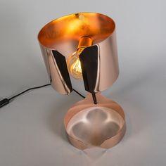 Tafellamp Waltz koper
